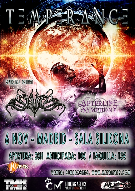 Cartel de Temperance en Madrid