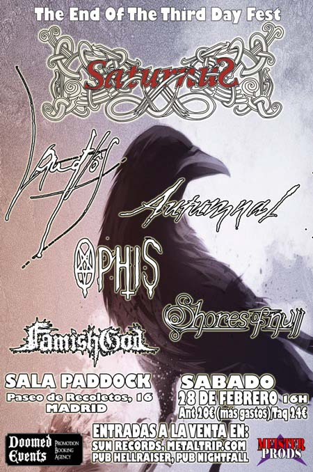 Cartel de The End Of The Third Day Fest