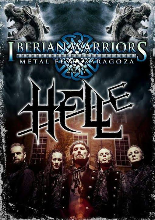 Cartel de Iberian Warriors Metal Fest 2017 - Viernes 22/09