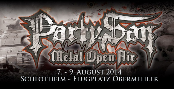 Cartel de Viaje y Entradas para el Party San Open Air 2014 (Alemania)
