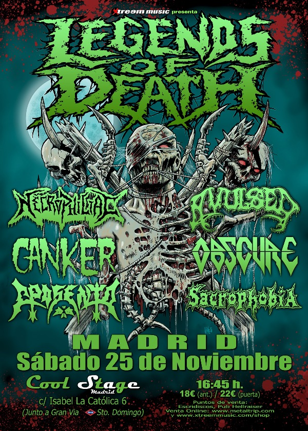 Cartel de Legends of Death