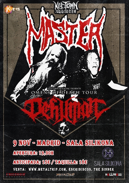 Cartel de Master en Madrid