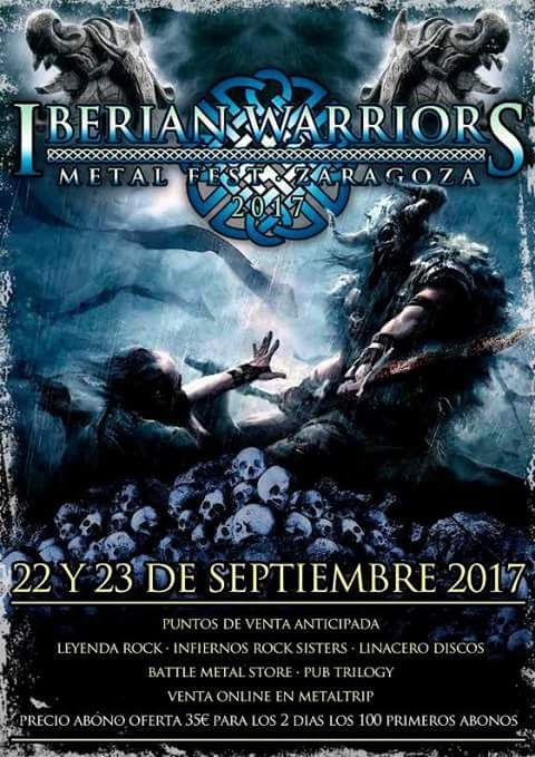 Cartel de Iberian Warriors Metal Fest 2017