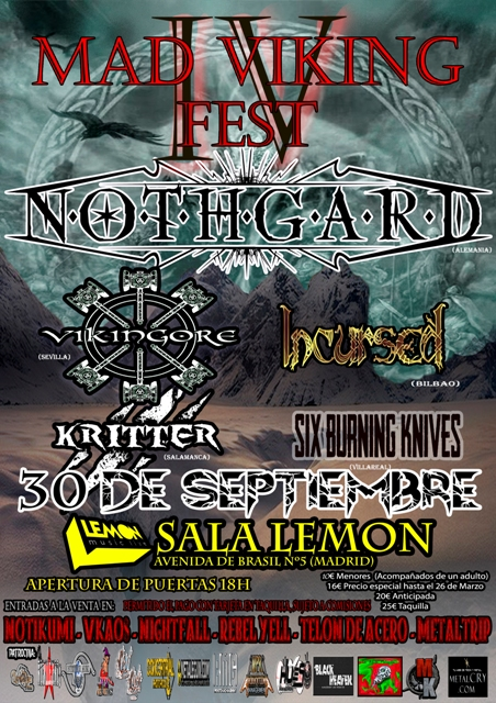 Cartel de Mad Viking Fest IV