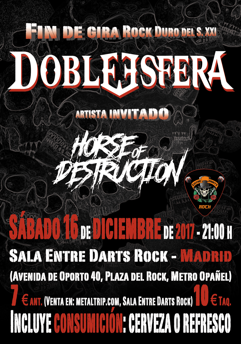 Cartel de Doble Esfera en Madrid