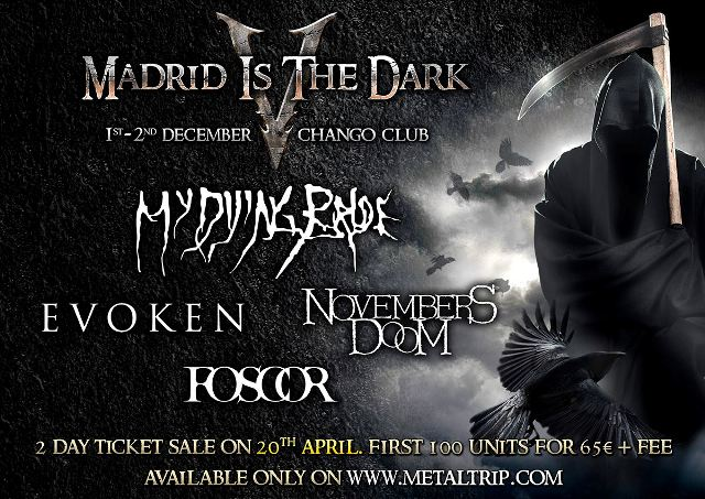 Cartel de Madrid Is The Dark V